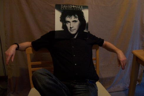 Then came David Essex. This was probably the best one we did. Again the body is mine, and the album isn't!