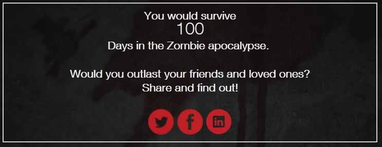 Zombie apocalypse survival quiz game xbox