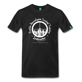 Zombie Apocalypse Survival Training Instructor T Shirt