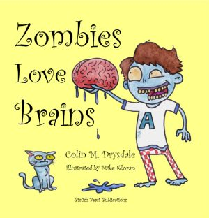 Zombies Love Brains Front Cover